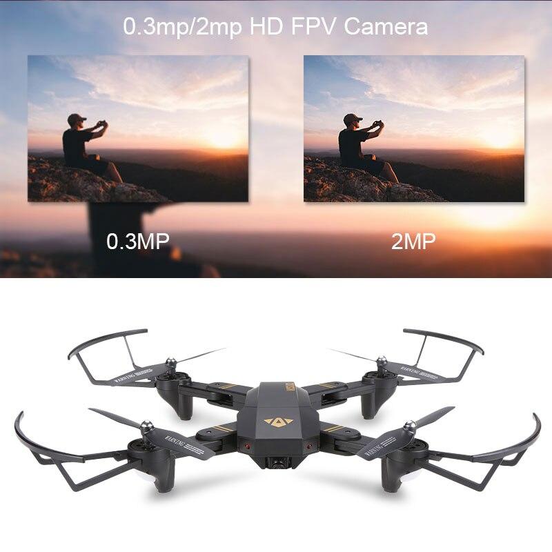Visuo XS809W XS809HW Quadcopter Mini Foldable Selfie Drone with Wifi FPV 2MP Camera Altitude Hold RC Dron Vs JJRC H47 E58 4