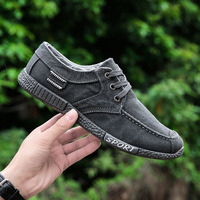 New Spring Summer Solid Color Men S Outdoor Gym Shoes Male Breathable Sports Canvas Sneakers Lace