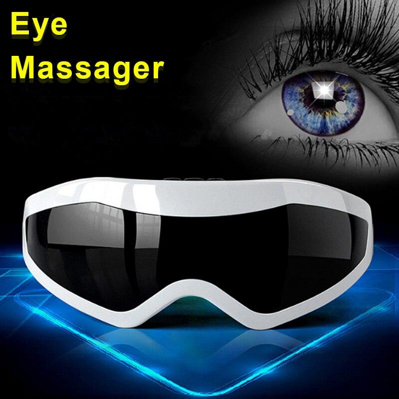 2018 Neu Eye Care Health Magnet Vibration Mitteilung Vermindern Ermüdung Elektrische Akupressur Augen Massager Werkzeug Förderung Preis