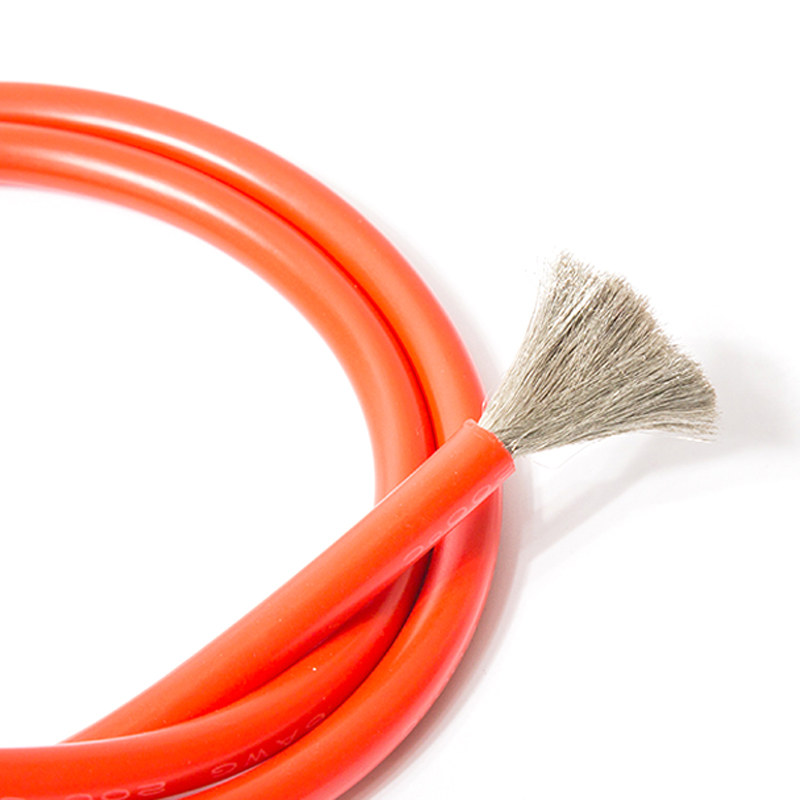 1M Black and Red 10AWG silicone wire heatproof soft Silicon gel ...