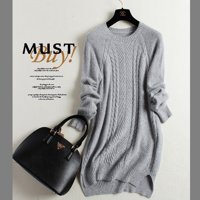 S-3XL! Pullover Cashmere Women Fashion Basic Sweater Plus Size Long Cashmere Sweater Slim O-neck Solid Pullovers c by bloomingdale s new navy long sleeve cowl neck cashmere sweater m $248 dbfl
