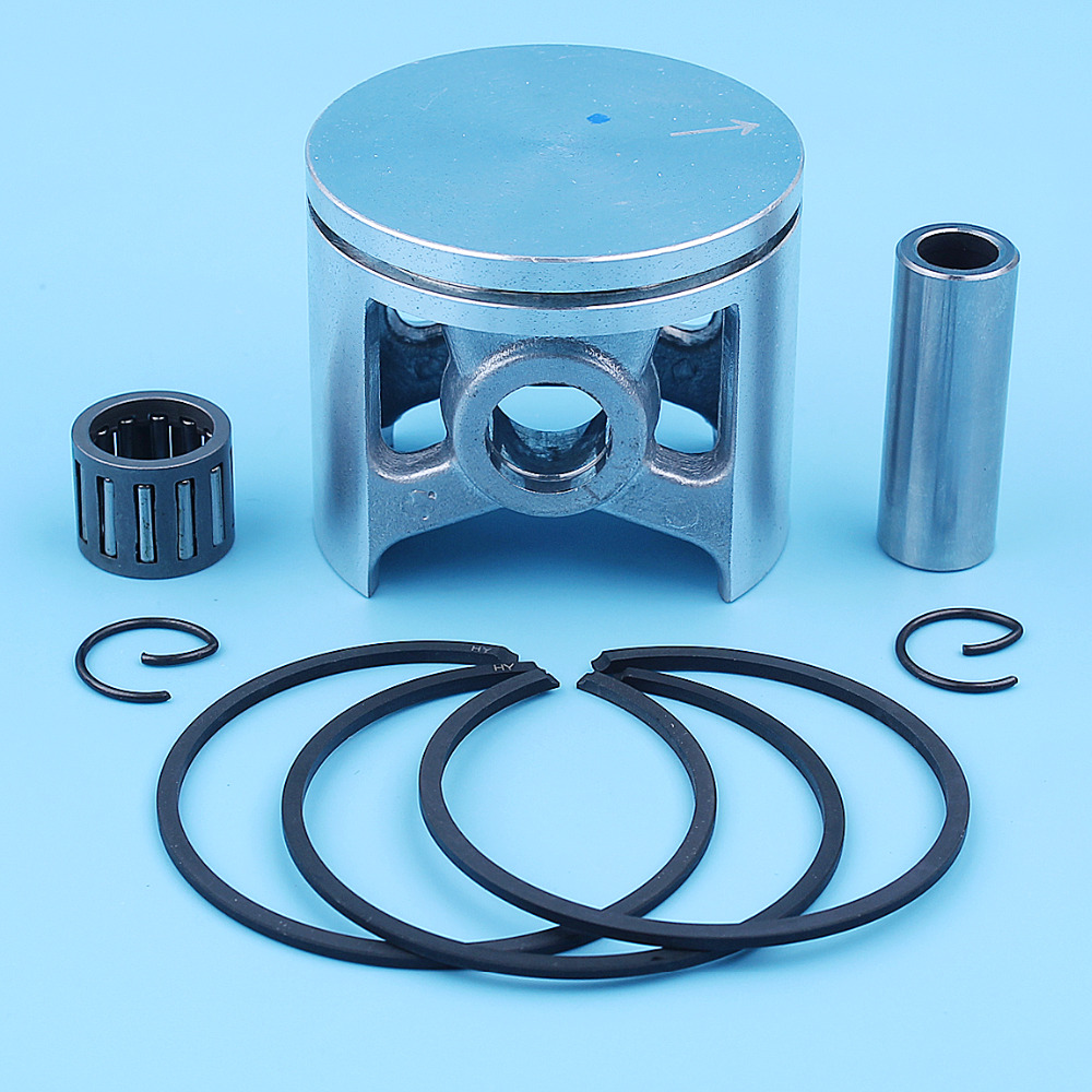 US $19 66 5% OFF|48mm Piston Ring 12mm Pin Needle Bearing Kit For Husqvarna  262XP 261 262 262XPH XP Chainsaw Replacement Spare Parts 503531172-in