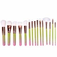 Fashion 15Pcs Makeup Brushes Pro Cosmetic Makeup Brush Superior Soft Brush Maquiagem Unicorn Makeup Brushes Brochas