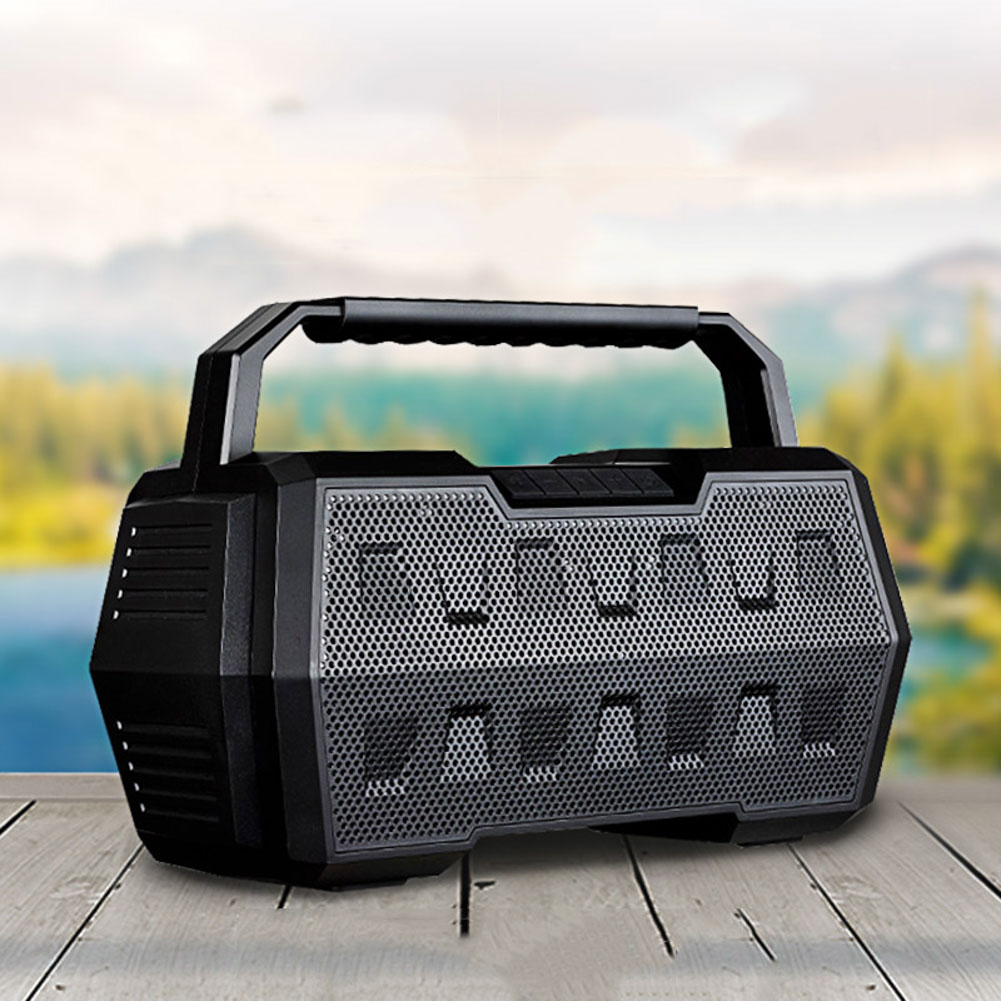 Soaptree Big Bass Outdoor Bluetooth Speaker Portable Sports Subwoofer Square Multifunction Speakers Support TF USB AUX super bass outdoor bluetooth speaker wireless sports portable subwoofer bike car music speakers tf card aux mp3 player