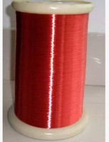500m Free shipping Red Magnet Wire 0.2mm Enameled Copper wire Magnetic Coil Winding QA 1 155 copper wire