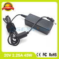 20V 2.25A ac adapter 5A10H42920 PA-1450-55LN 5A10H42925 laptop charger for Lenovo 100s Chromebook E41-10 E41-15 B50-10 B50-50
