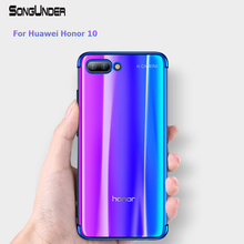 Get more info on the Huawei Honor 10 Case Cover Transparent Plating TPU Soft Silicone Thin Fundas Coque Back Cover for Honor10 10 10Lite Phone Cases