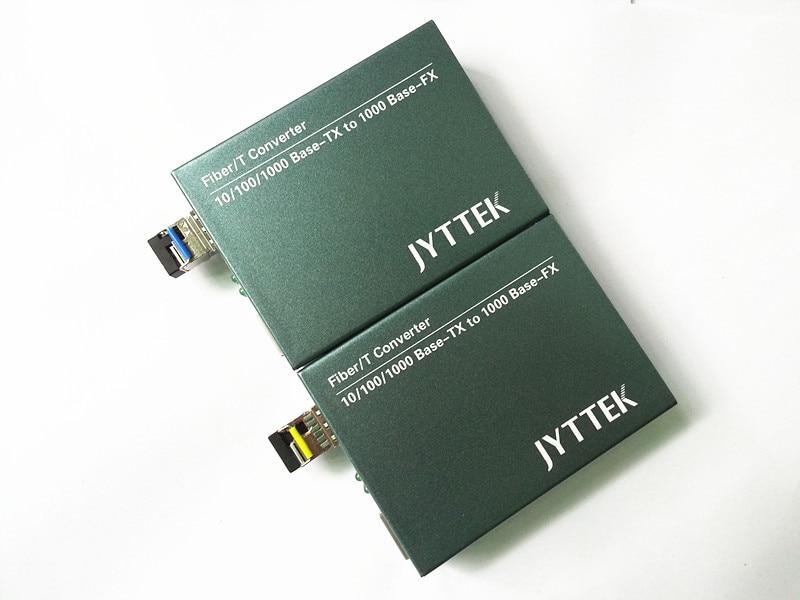 1 Paia 1.25G SFP Fiber Media Converter, 10/100/100 M SFP Fiber Media Converter, esterno PSU Singola fibra 20 KM 1310/1550NM LC,1 Paia 1.25G SFP Fiber Media Converter, 10/100/100 M SFP Fiber Media Converter, esterno PSU Singola fibra 20 KM 1310/1550NM LC,