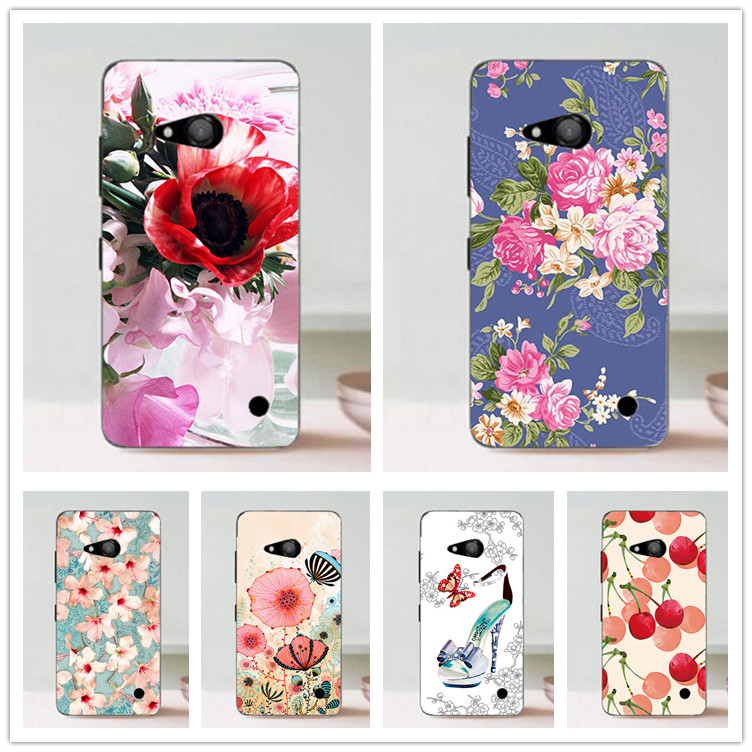 Popular Painting Case For font b Nokia b font Lumia 550 N550 cover Various Flowers Stylish