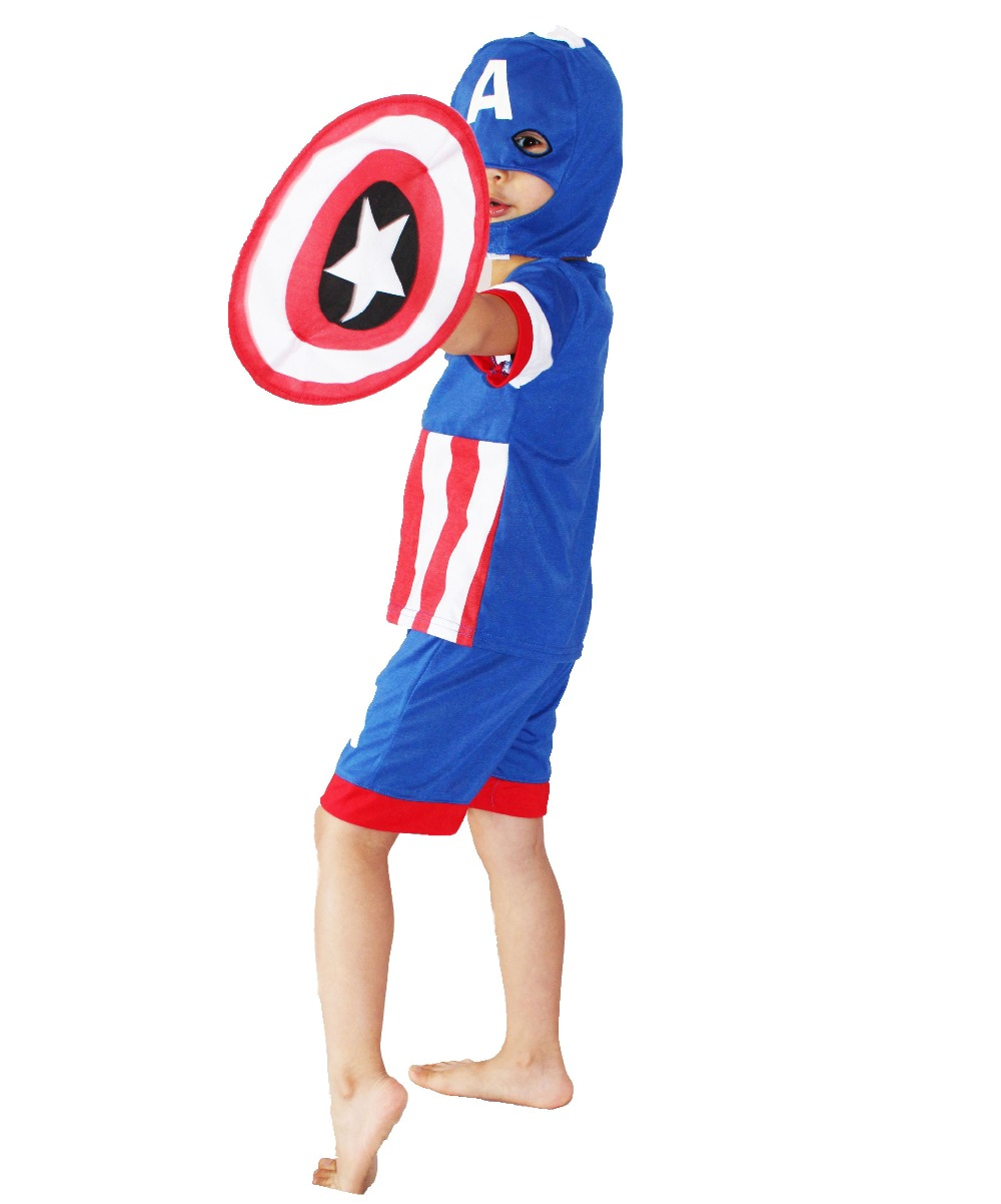 Online Get Cheap Captain America Costume Kids -Aliexpress.com ...