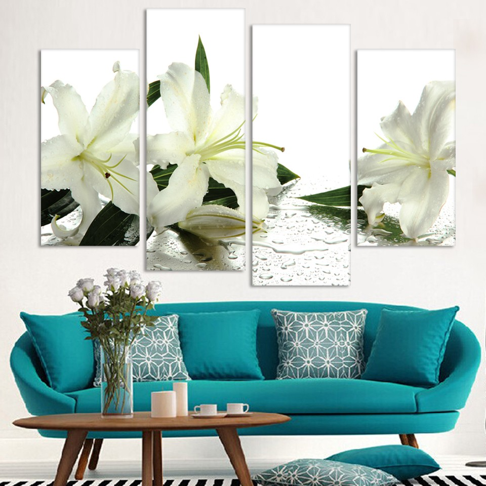 Painting Canvas For Living Room Online Get Cheap White Painting Canvas Aliexpresscom Alibaba Group