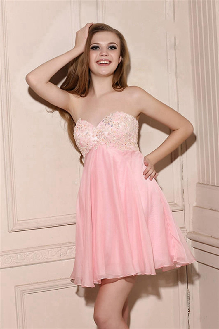 Rosa / azul claro Mini Vestido De Festa Curto vestidos fiesta octavo ...