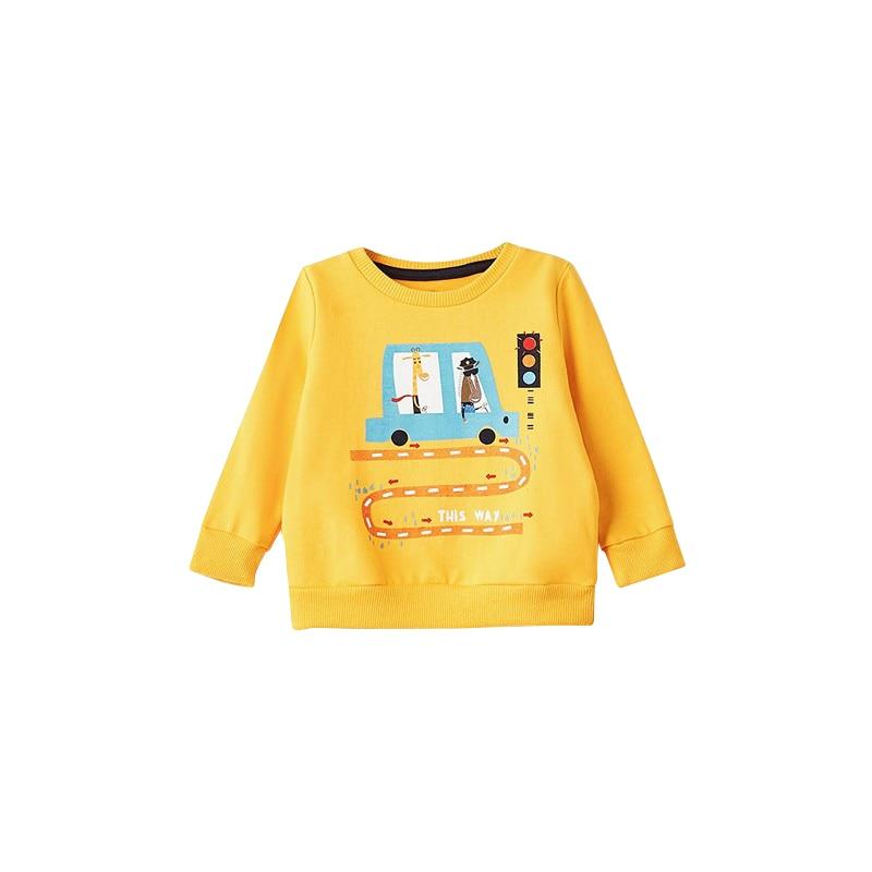Hoodies & Sweatshirts MODIS M182K00032 for baby boys kids clothes children clothes TmallFS newborn baby boy girl infant warm cotton outfit jumpsuit romper bodysuit clothes