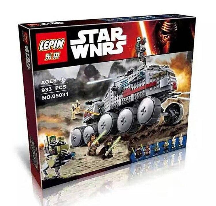 Livraison Express 0531 amérique clasic film thème série Clone turbo tank 933 pièces assembler des blocs de puzzle pour enfants cadeau - 6