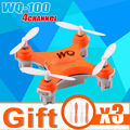 2.4G Remote Control Toys 4CH 6Axis RC Quadcopter rc helicopters upgrade version WQ-100