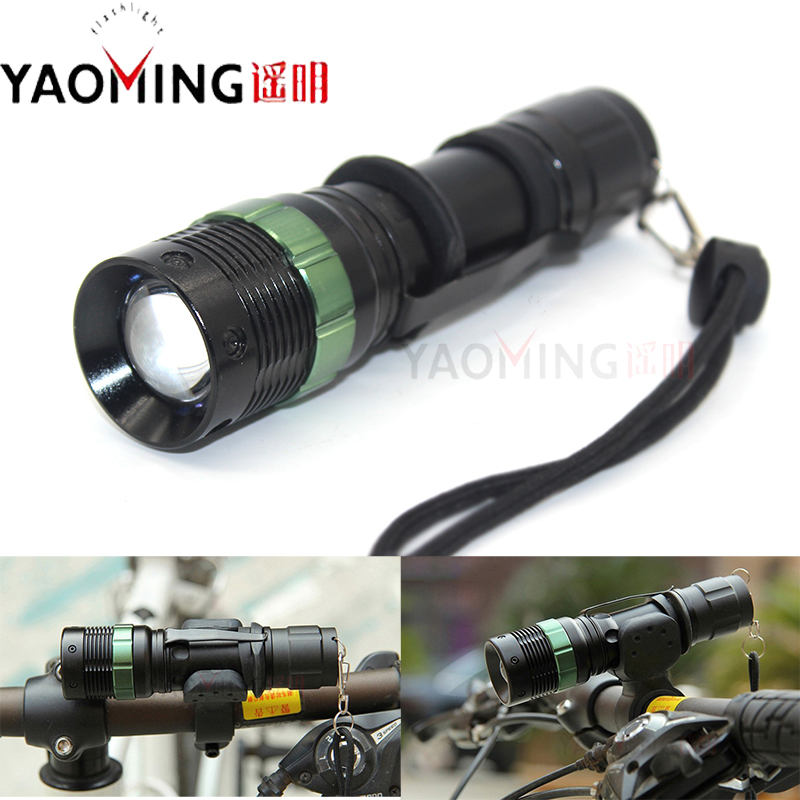 2000 CREU LLEOL Lumen C5 Lamp Chwyddo Chwyddo Lamp Flashlight LED - Goleuadau cludadwy