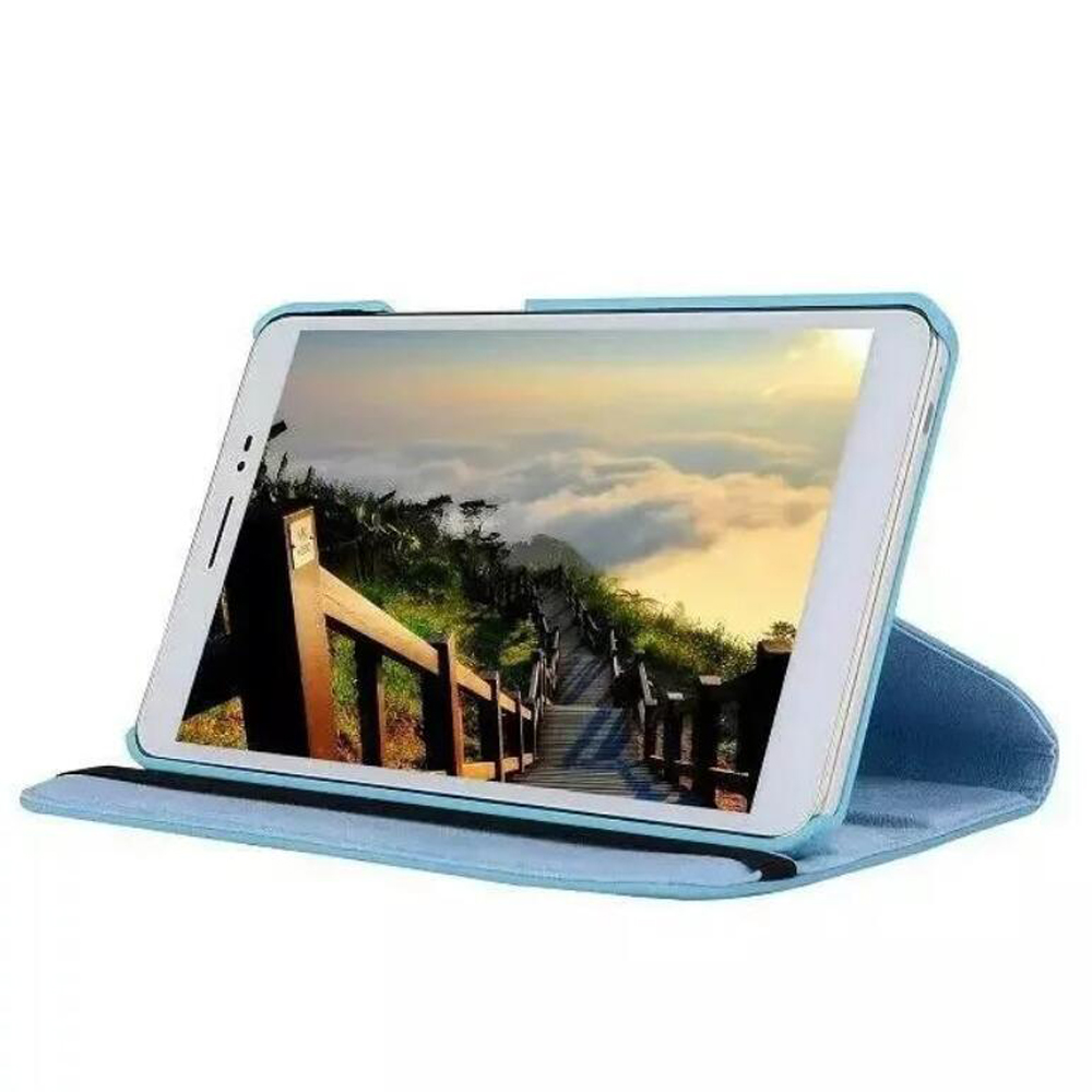360 Rotating Flip Stand PU Leather Case For Huawei Mediapad T2 8 Pro Magnetic Smart Cover For Huawei Honor Pad 2 8.0 Inch