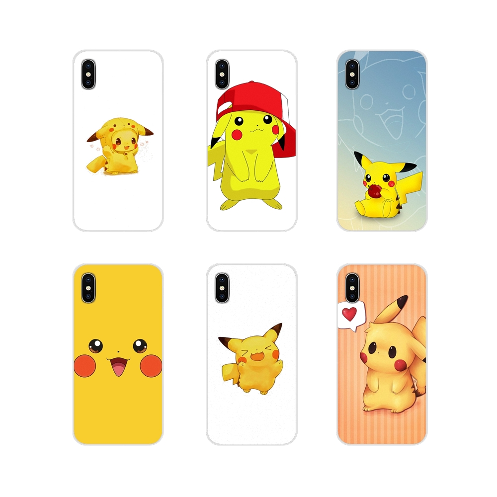 Accessories Phone Shell Covers Lovely Cartoon Pikachue For Motorola Moto X4 E4 E5 G5 G5S G6 Z Z2 Z3 G3 G2 C Play Plus