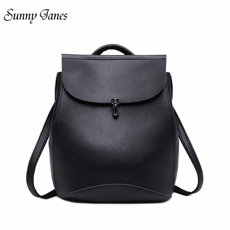 Sunny Janes Brand Korean Style Backpack School Bag Fashion Leisure Backpack Multiple Use Methods Travel Backpack