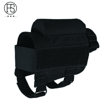 Nylon Tactical Nylon Buttstock Pouch Hunting Shooting Game Rifle Accessories Cheek Shell Cartridges Holder Carrier 4