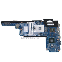 636944 001 MAIN BOARD For HP Pavilion DM4 DM4 2000 Laptop Motherboard HM65 DDR3 ATI HD6470M 1GB Graphics