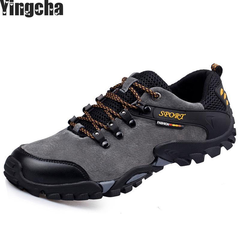 Genuine Leather Walking Sneakers Male Shoes For Men Fashion Casual Spring Autumn Wear Resisting High Quality Footwear spring autumn fashion men high top shoes genuine leather breathable casual shoes male loafers youth sneakers flats 3a