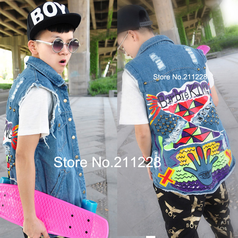 Compare Prices on Sleeveless Jean Jacket Men- Online Shopping/Buy ...