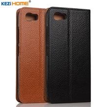 Asus Zenfone 3 S Max случае kezihome личи Натуральная кожа флип Стенд кожаный чехол для ASUS Peg ASUS 3 S Zenfone 3 S Max ZC521TL
