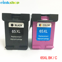 einkshop 65 Compatible Ink Cartridge Remanufactured For HP XL 65XL for DeskJet 3720 3722 3723 3732 3752 3755 3758 Printer