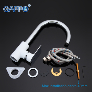 Image 5 - GAPPO Kitchen Faucet sink taps kitchen faucet with filtered water rotated chrome faucet kitchen retro mixer taps