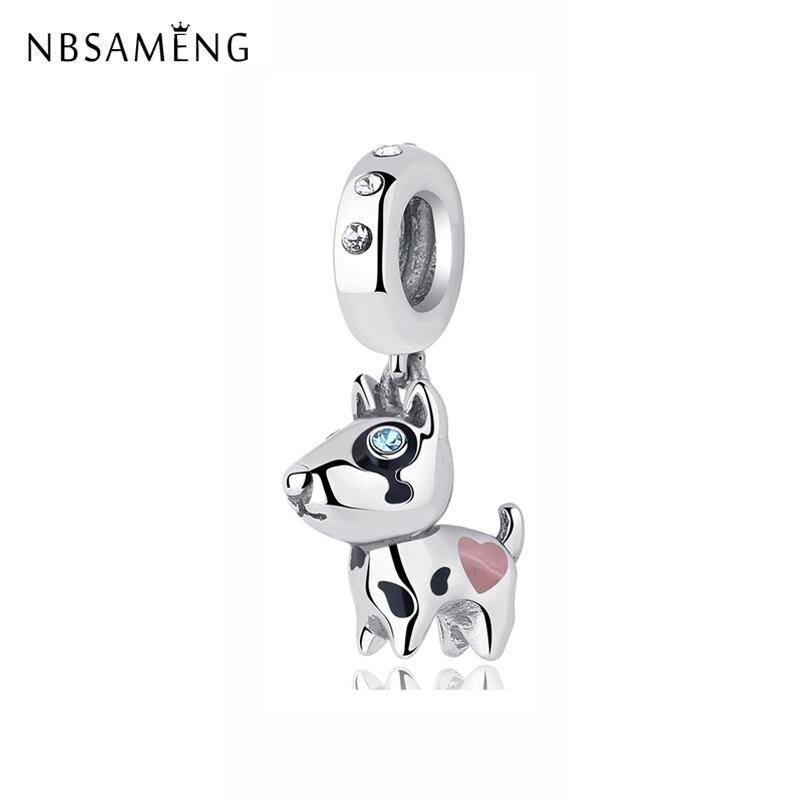charm pandora bull terrier