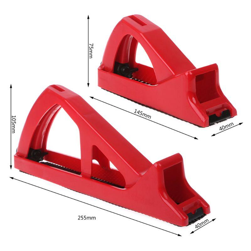 Купить с кэшбэком Portable Sanding Grinder Drywall Gypsum Board Panel Plasterboard Trimmer Sander Polisher Abrasive Edge-finishing Seam Edger Tool