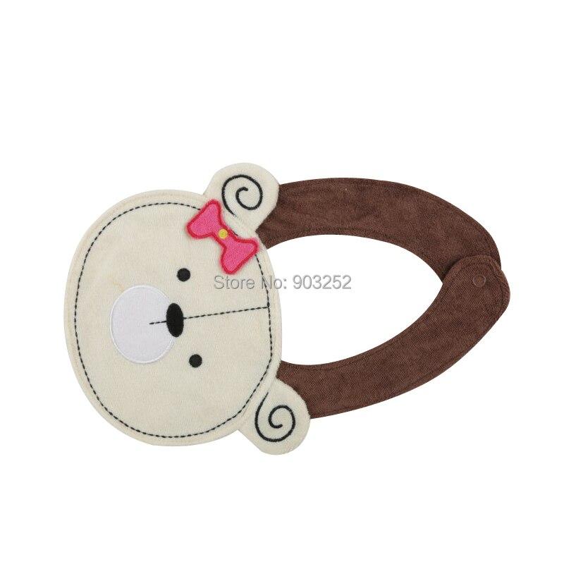 5 шт./партия-буксировочные животные-принты моделирование младенцев и малышей хлопковые нагрудники непромокаемые детские нагрудники/Мультяшные детские нагрудники с животными