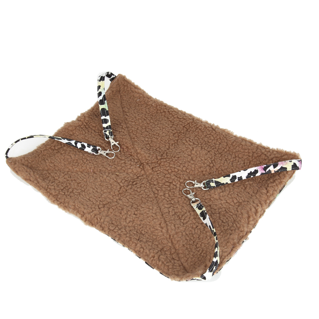 Pet Comfortable and Warm Cat Bed Pet Hammock For Pet Cat Rest & Cat House Soft And Cat Ferret Cage Size S-XL