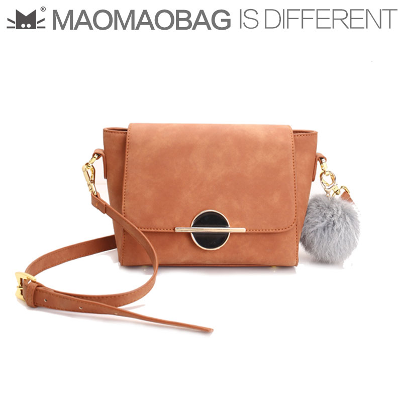 Maomaobag 2017 New Handbag Fashion Trend Frosted Cute Plush Ball Single Shoulder Women Crossbody Bag In Bags From Luggage On Aliexpress