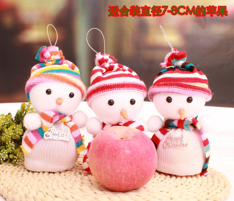 Snowman Christmas Eve Gift Bag Christmas Scene Decoration Items Christmas Gifts Christmas Decoration Supplies In Stockings Gift Holders From Home