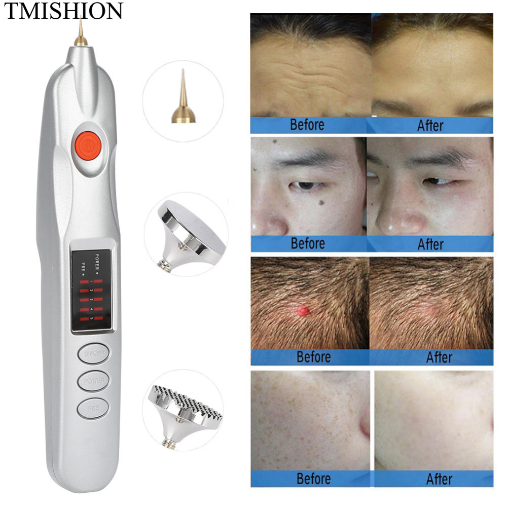 Plug in Electric Magic PenUSB Rechargeable Mole Spot Freckle Tattoo Removal Pen Laser Freckle Removal Machine