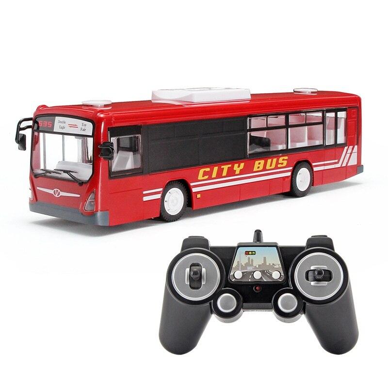 Simulation électrique télécommande RC Bus transports en commun E635 2.4G Auto porte ouverte Simulation lumière son enfants voiture électrique RC