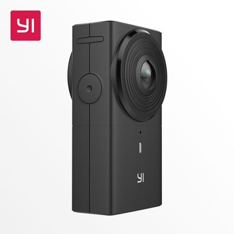 YI 360 VR Câmera de 220 graus Lente Dupla 5.7 K/30fps câmera Digital de 360 Graus Da Câmera Panorâmica Imersiva Sem Esforço câmera