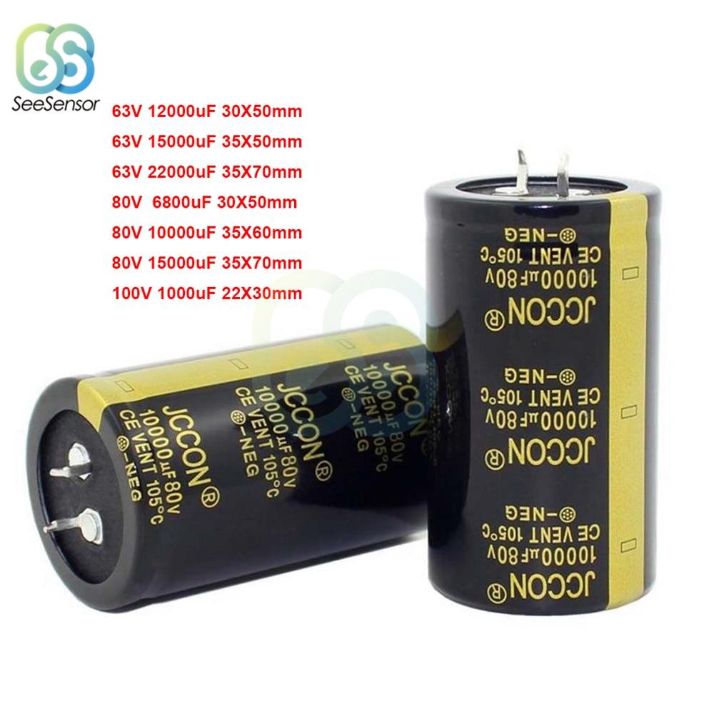 1pcs ELNA HIFI Audio Power Amplifier Filter Capacitor 100V 15000uF 35*80MM