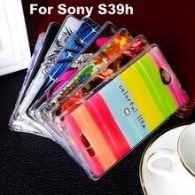 Soft TPU Plastic Phone Case For Sony Xperia C2305 For Sony Xperia C C2305 S39h 5.0 inch Phone Cover shelll Bags Hoods Housing