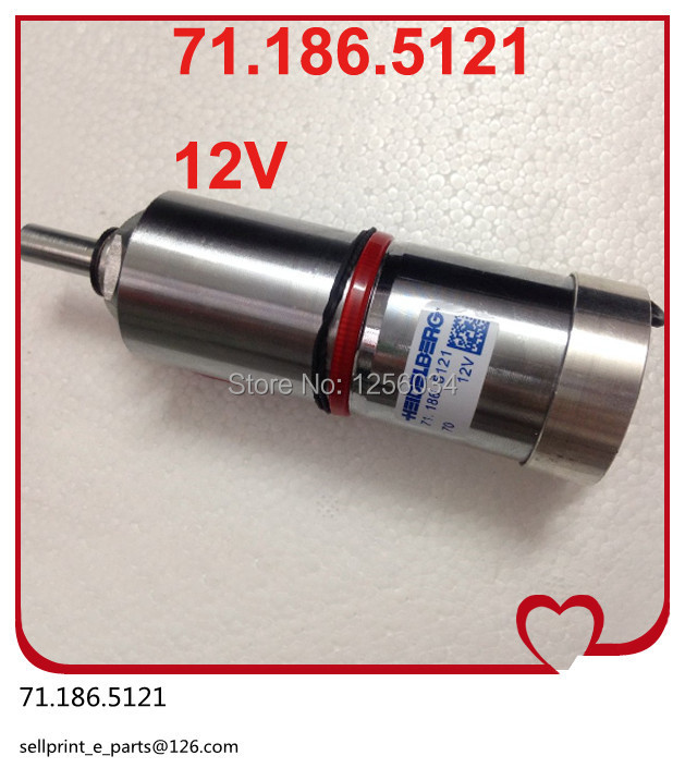 1 piece Heidelberg ink fountain roller rotation motor 71.186.5121 for heidelberg CD102 and SM102 machine