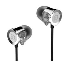 100% Original Dunu DN2000J DN-2000J hifi fever Dual Balanced Armature+Single Dynamic Hybrid Inner-Ear Earphone