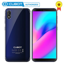 Cubot J3 MT6580 5.0 pouces 18:9 grand écran visage ID Quad Core Android Go 1GB RAM 16GB ROM Smartphone portable 2000mAh 3G(China)