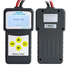 LANCOL MICRO-200 Diagnostic tool 12V CCA Digital Automotive /Car Battery Tester  for 12 volt Lead-acid EFB AGM GEL batteries