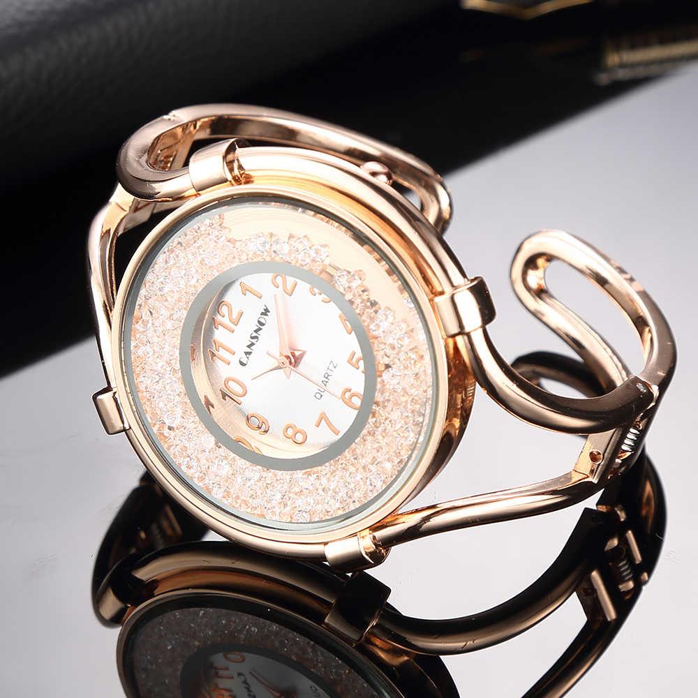 נשים של צמיד שעונים 2019 חדש אופנתי בנות גבירותיי רוז זהב שמלת שעוני יד פלדת רצועת השעון קוורץ שעון reloj mujer