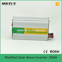 MKM300-241G modified sine wave best power inverter 24vdc 120vac single output mini electronics inverter 300watt made in china