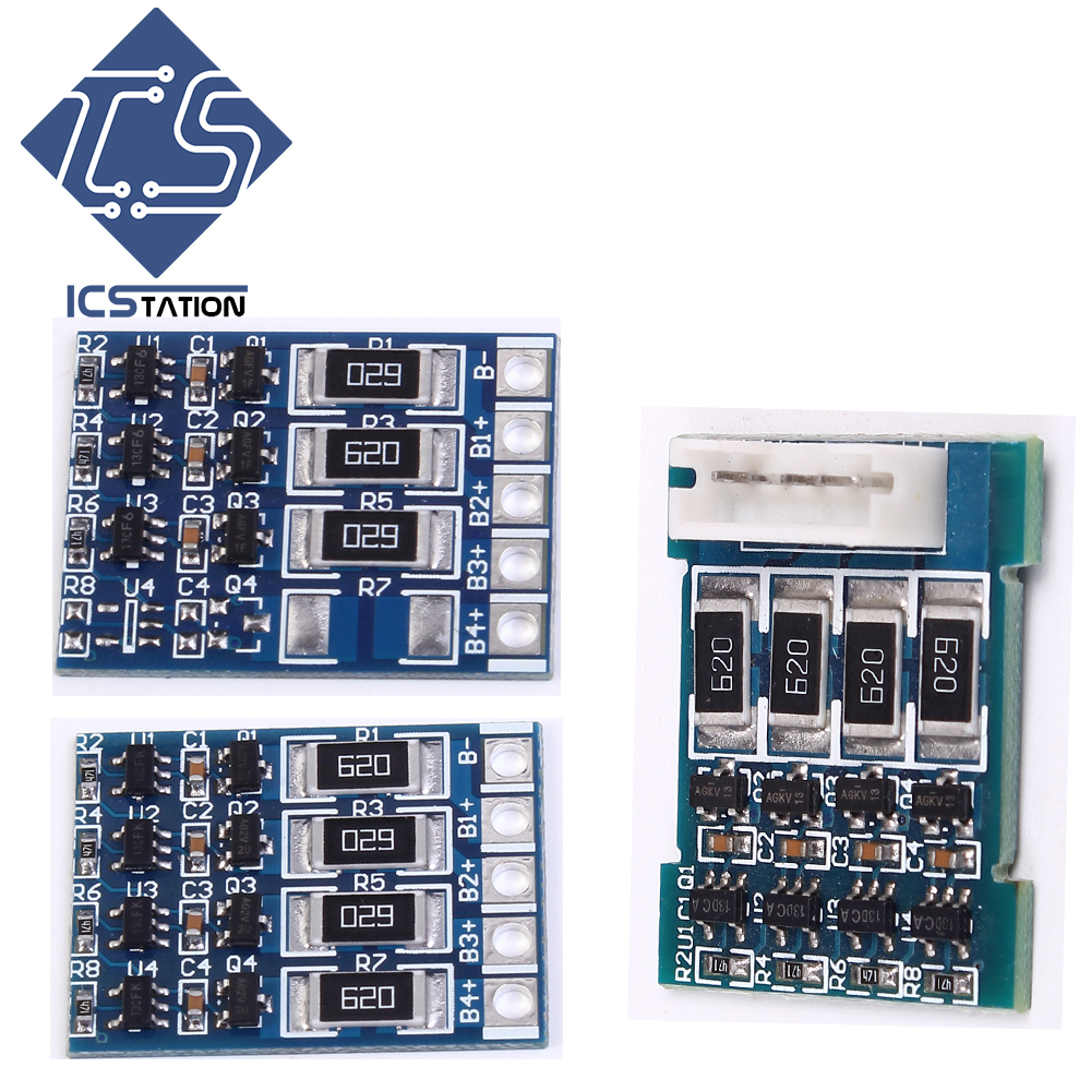 Balanced Function Board for 18650 Polymer Battery Protection Lithium Iron Phosphate Board With Balanced Function High Power 1s 3 2v lithium iron phosphate battery protection board 5a for 18650 polymer battery charging module