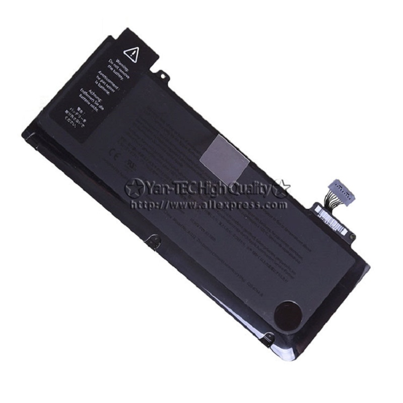 original Battery For Apple Macbook Pro 13 Unibody A1322 A1278 2009 2010 2011 2012 Version 10.95V 63Wh Free shipping original top case palmrest for macbook pro unibody 13 a1278 2011 2012 years