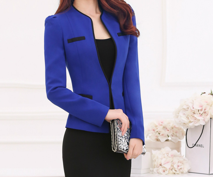 Blue business tops 172